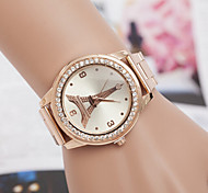 Woman Tower Personality Retro Wrist  Watch