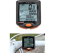 Waterproof BoGeer YT-813 Imported Sensors LCD Backlit Mountain Road Bicycle Bike Computer Cycling Speedometer Odometer