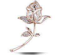 Taobao взрыв adicolo кристалл розы брошь