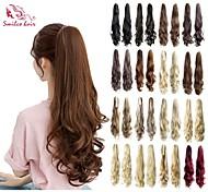 smilco PIC per capelli 22inch 55 centimetri 100g / pcs artiglio ricci coda di cavallo 17 colori posticci opzionali ponytail estensione dei