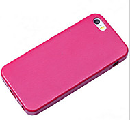 Leather Back Cover / Border Phone Shell For Iphone5s Mobile Phone