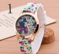 relógios da mulher Genebra relógio de quartzo
