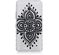 Lucky Flower Pattern Material TPU Phone Case for Nokia N640