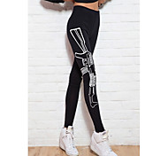 Running Leggings Women's Thermal / Warm Tactel Yoga Sports High Elasticity Tight Indoor / Outdoor clothing / Performance / Leisure Sports