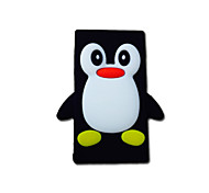 Fashionable 3D Cute Colorful Penguin Soft Silicone Gel Back Case Cover for iPhone 6/6S(Assorted Colors)