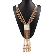 MISSING U Vintage / Party Alloy / Others Long Statement Necklace