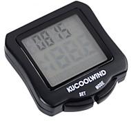 Bike Computers ( Schwarz , ABS / Synthetik ) - für Av - Durchschnittliche Geschwindigkeit / Odo - Kilometerzähler / Kilometerzähler / Tme