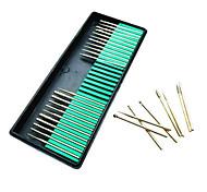 ferramentas do prego moagem máquina de perfuração prego moagem cabeça kit cabeça ferramenta arquivo de arte rod mill manicure 30