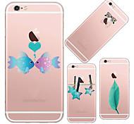 maycari®simple belleza TPU caso para el iphone 6 6s / iphone (colores surtidos)