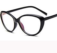 [Free Lenses]   Acetate/Plastic Cat-eye Full-Rim Fashion Prescription Eyeglasses