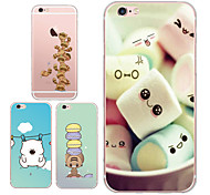 MAYCARI®Cuteness Transparent TPU Back Case for iPhone 5/iphone 5s(Assorted Colors)