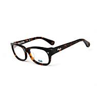 [Free Lenses]  Unisex 's Acetate/Plastic / Metal Rectangle Full-Rim Classic / Fashion Prescription Eyeglasses
