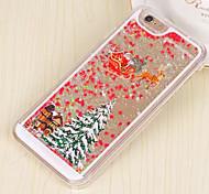étoiles de Noël colorées sables mouvants 3d matériel PC Phone pour iPhone 6plus / 6splus (couleurs assorties)