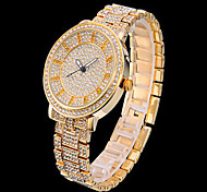 Fashion Crystal Rhinestone strip Analog Gold Quartz Wrist Watch Cool Watches Unique Watches