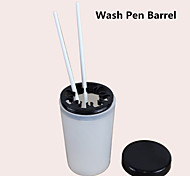 1pcs Nail Tools Wash Pen Barrel Wash Pen Cup Washing Dedicated Nail Pen