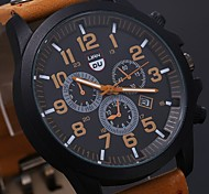 Men's Luxury Watches Liandu Style Brand Sports Watches 2015 Quartz Watch Casual Men Military Waterproof Leather Watch