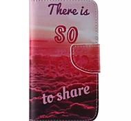 l'amour en cuir de téléphone portable pour Samsung Galaxy s5