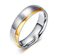 Z&X® Fashion  Personality Wedding Titanium Steel Ring Band Rings Party / Daily / Casual 1pc
