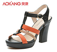 Aokang® Women's Leather Sandals - 132811032