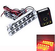 automobile balenò 6 LED LED luce di marcia diurna DRL del faro 2 pc