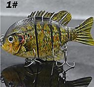 """1 pcs Iscos Nadadores / Iscas Jerkbaits N/A 35.5 g Onça mm/4"""" polegada,Plástico DuroIsco de Arremesso / Outro / Pesca de Isco / Pesca"""