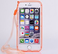 High Quality 2 in 1 Pure Colour Frame with Transparent Cover for iPhone 6 (Assorted Colors)
