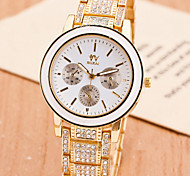 Fashion Women'S Watches Crystal  Quartz Watches(Assorted Colors)