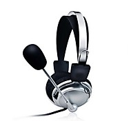 Stereo PC Headset with Microphone Earphones Gaming Headbands