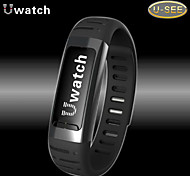 U9 Wearable Smart Bracelet Bluetooth 4.0 With Alarm clock/Pedometer/burglar alarm Outdoor Sport Smart Watch