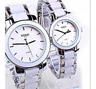 moda retro relógio de quartzo impermeável relógio