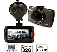 CAR DVD - Full HD / Uscita video / Sensore G / Rilevamento movimenti / Grandangolo / 720P / 1080P / HD / Antiurto / Foto in fermo immagine