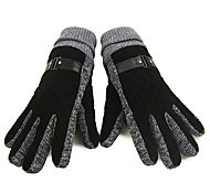 WEST BIKING® Warm Winter Plus Thick Velvet Men's Gloves Outdoor Cycling Gloves Cold Wind Drove