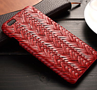 Herringbone Weave Pattern PU Leather Material Quality Feel Phone  Case for iPhone 6/6S (Assorted Colors)