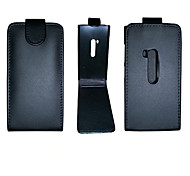 PU Leather Up Down Flip Mobile Skin Case Cover For Nokia Lumia 920