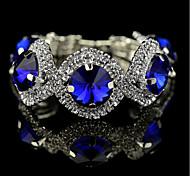 Women's Tennis Bracelet Cubic Zirconia Crystal