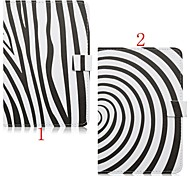 7.9 Inch Zebra Pattern High Quality PU Leather Case for iPad Mini 4(Assorted Colors)