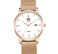 AIBI® Men's Fashion Watch Calendar Water Resistant Angeles Rose Golden Business Designer Watch Wrist Watch Cool Watch Unique Watch With Watch Box