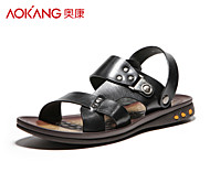 Aokang® Men's Leather Sandals - 141723067
