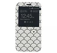 Para Funda Samsung Galaxy con Soporte / con Ventana / Flip / Diseños Funda Cuerpo Entero Funda Dibujos Cuero Sintético SamsungXcover 3 /