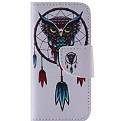 Owl Pattern Cell Phone Leather For iPhone 5/5S