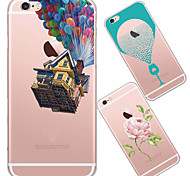 MAYCARI®In Dreams Transparent TPU Back Case for iPhone 5/iphone 5s(Assorted Colors)