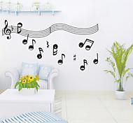 Beautiful Musical notation Study Room Wall Decor