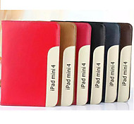 7.9 Inch High Quality PU Leather Case for iPad Mini 4(Assorted Colors)