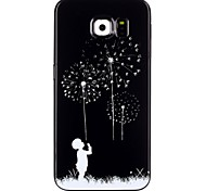 Dandelion Pattern TPU Phone Case for  Galaxy S6/Galaxy S6 edge/Galaxy S6 Edge Plus/Galaxy S5