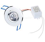 3W Luci a pannello 1 LED ad alta intesità 100-450 lm Colori primari Controllo a distanza AC 85-265 V 1 pezzo