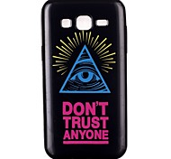 Triangle eye Pattern TPU Phone Case for Galaxy J2/Galaxy J1 Ace