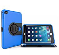 copertura posteriore dura custodia protettiva armatura in plastica per Apple iPad mini 4 (colori assortiti)