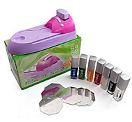 Nail Art DIY Printing Machine Stamping Polish Color Nail Art Stamping Set