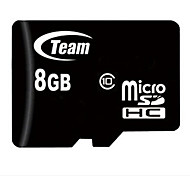 TEAM TF(Micro-SD) Card Class10 (8GB) TUSDH8GCL Memory Card