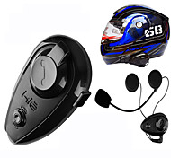 500M Waterproof MotoCycle Bluetooth Interphone Motor Talkie Hand Free Ski Helmet Headsets